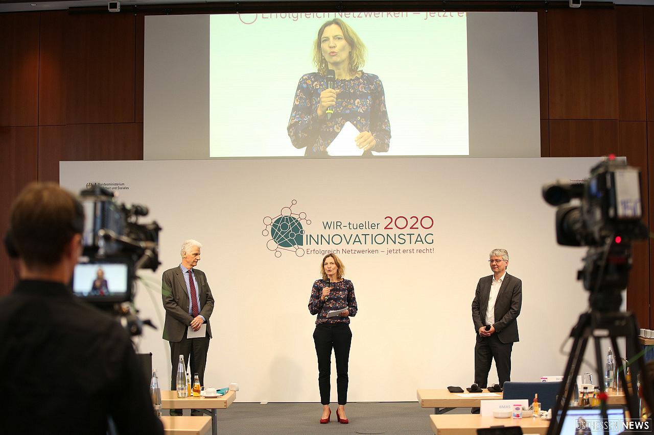 Foto - Auszeichnung - Innovatives Netzwerk 2020